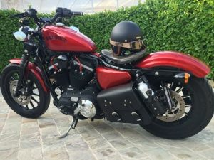 Sacoches Myleatherbikes Harley Sportster Forty Eight (65)